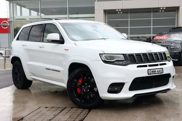 Used Jeep Grand Cherokee WK MY17 SRT Liverpool, 2016 Jeep Grand Cherokee WK MY17 SRT Bright White 8 Speed Sports Automatic Wagon