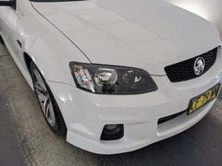 2010 Holden Commodore VE II SV6 White 6 Speed Sports Automatic Sedan.