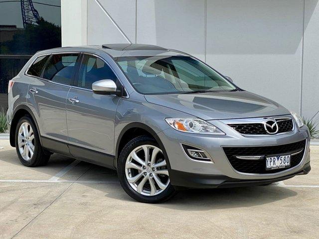 Used Mazda CX-9 TB10A4 MY12 Luxury Templestowe, 2011 Mazda CX-9 TB10A4 MY12 Luxury Silver 6 Speed Sports Automatic Wagon