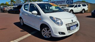 2010 Suzuki Alto GF GL White 5 Speed Manual Hatchback.