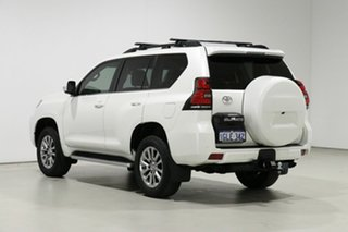 2018 Toyota Landcruiser Prado GDJ150R MY17 Kakadu (4x4) White 6 Speed Automatic Wagon