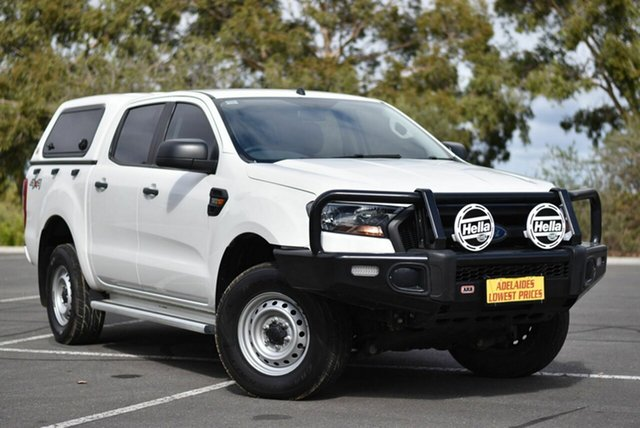 Used Ford Ranger PX MkII XL Enfield, 2015 Ford Ranger PX MkII XL White 6 Speed Sports Automatic Utility