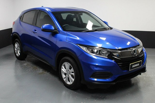 Used Honda HR-V MY21 VTi Cardiff, 2020 Honda HR-V MY21 VTi Brilliant Sporty Blue 1 Speed Constant Variable Hatchback