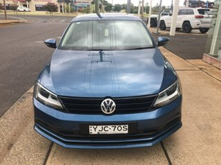 2016 Volkswagen Jetta 1B 118TSI Trendline Blue Sports Automatic Dual Clutch.