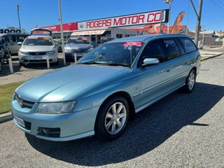 2007 Holden Berlina VZ MY06 Upgrade Blue 4 Speed Automatic Wagon.