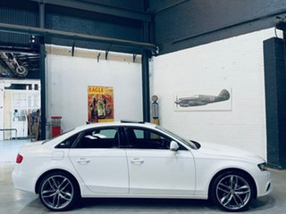 2008 Audi A4 B8 8K Multitronic White 8 Speed Constant Variable Sedan.