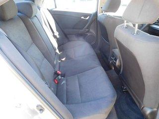 2011 Honda Accord Euro CU MY11 Silver 5 Speed Automatic Sedan
