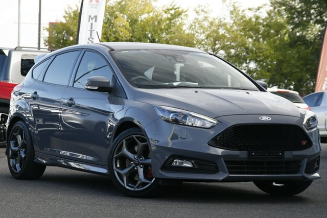 Used Ford Focus LZ ST Essendon Fields, 2017 Ford Focus LZ ST Grey 6 Speed Manual Hatchback