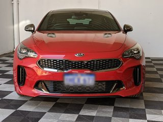 2017 Kia Stinger CK MY18 GT-Line Fastback Red 8 Speed Sports Automatic Sedan.