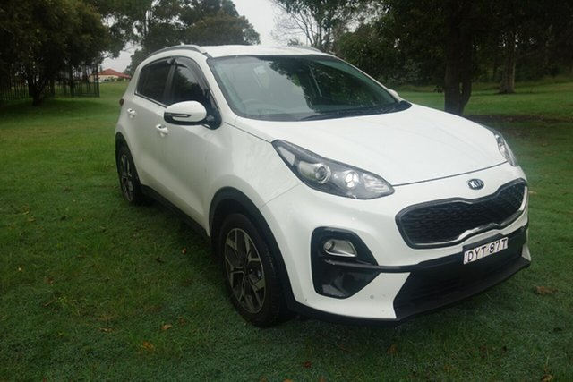 Used Kia Sportage QL MY18 Si 2WD Premium East Maitland, 2018 Kia Sportage QL MY18 Si 2WD Premium White 6 Speed Sports Automatic Wagon