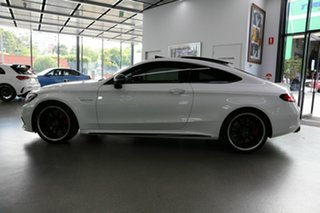 2018 Mercedes-Benz C-Class C205 809MY C63 AMG SPEEDSHIFT MCT S White 9 Speed Sports Automatic Coupe