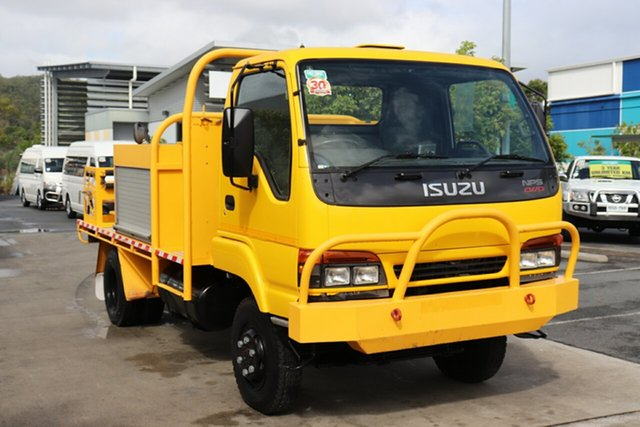 Used Isuzu NPS Robina, 2000 Isuzu NPS Yellow Manual Firetruck