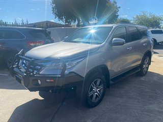 2019 Toyota Fortuner GUN156R GXL Silver 6 Speed Automatic Wagon.