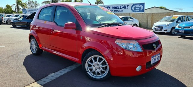 Used Proton Savvy BT East Bunbury, 2006 Proton Savvy BT Red 5 Speed Seq Manual Auto-Clutch Hatchback