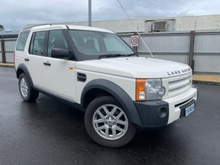 2008 Land Rover Discovery 3 Series 3 08MY SE White 6 Speed Sports Automatic Wagon.