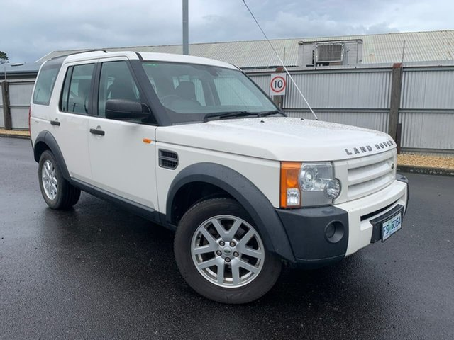 Used Land Rover Discovery 3 Series 3 08MY SE Moonah, 2008 Land Rover Discovery 3 Series 3 08MY SE White 6 Speed Sports Automatic Wagon
