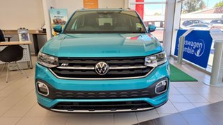 2020 Volkswagen T-Cross C1 MY21 85TSI DSG FWD Style Makena Turquoise Metallic 7 Speed.
