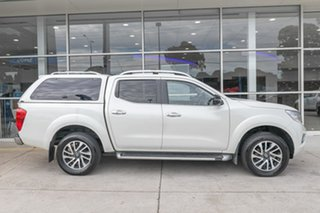 2016 Nissan Navara D23 ST-X White 7 Speed Sports Automatic Utility