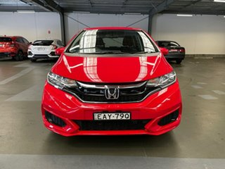 2019 Honda Jazz GF MY19 VTi Red 1 Speed Constant Variable Hatchback