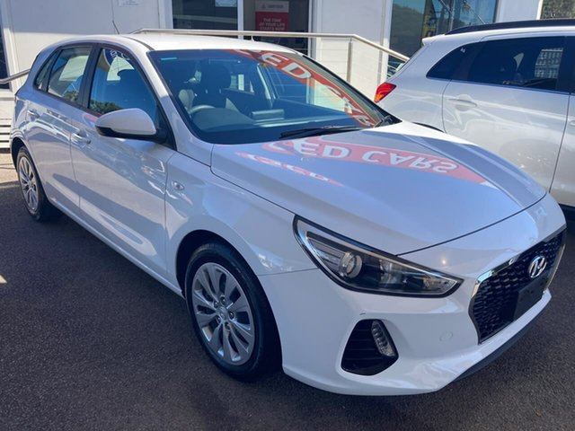 Used Hyundai i30 PD MY19 Go North Gosford, 2019 Hyundai i30 PD MY19 Go White 6 Speed Sports Automatic Hatchback