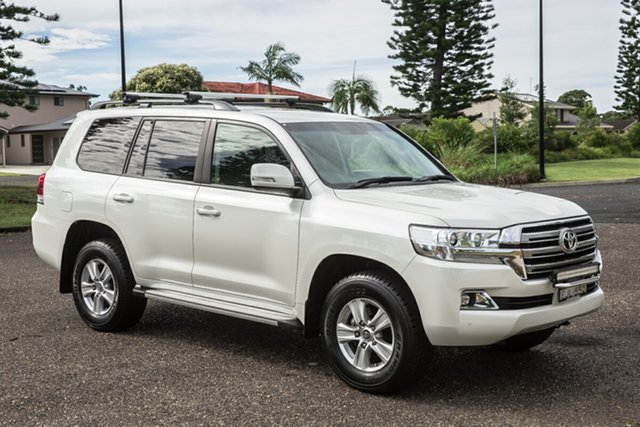 Used Toyota Landcruiser VDJ200R Altitude Port Macquarie, 2017 Toyota Landcruiser VDJ200R Altitude White 6 Speed Sports Automatic Wagon