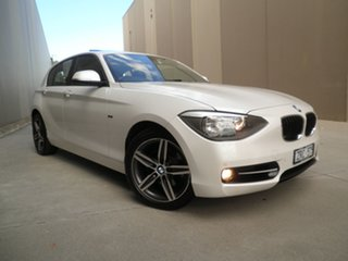 2013 BMW 118i F20 118i Pearlescent White 8 Speed Sports Automatic Hatchback.