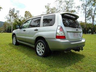 2007 Subaru Forester MY07 X Luxury Silver 5 Speed Manual Wagon.
