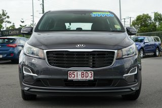2018 Kia Carnival YP MY19 S Charcoal/cream 8 Speed Sports Automatic Wagon.