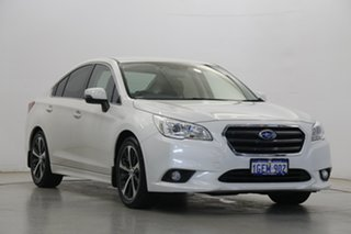 2016 Subaru Liberty B6 MY16 2.5i CVT AWD White 6 Speed Constant Variable Sedan