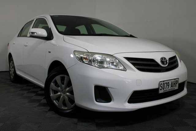 Used Toyota Corolla ZRE152R Ascent Wayville, 2010 Toyota Corolla ZRE152R Ascent White 4 Speed Automatic Sedan