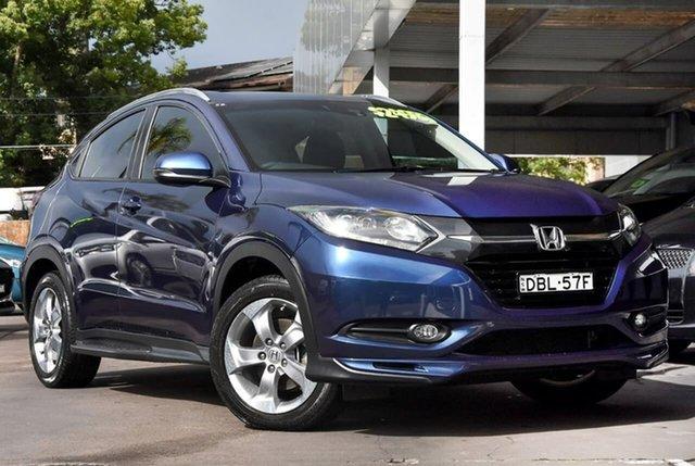 Used Honda HR-V MY15 Limited Edition Waitara, 2015 Honda HR-V MY15 Limited Edition Blue 1 Speed Constant Variable Hatchback