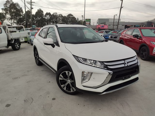 Used Mitsubishi Eclipse Cross YA MY19 LS 2WD Liverpool, 2019 Mitsubishi Eclipse Cross YA MY19 LS 2WD White 8 Speed Constant Variable Wagon