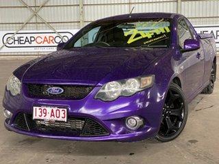 2009 Ford Falcon FG XR6 Ute Super Cab Turbo Purple 6 Speed Sports Automatic Utility.