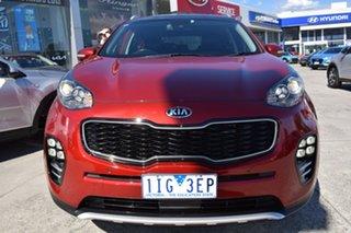 2016 Kia Sportage QL MY16 Platinum AWD Red 6 Speed Sports Automatic Wagon.