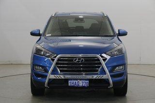 2020 Hyundai Tucson TL3 MY20 Elite 2WD Aqua Blue 6 Speed Automatic Wagon.