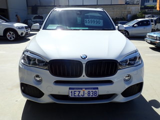 2016 BMW X5 F15 MY16 xDrive30d Polar White 8 Speed Automatic Wagon.