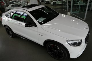2018 Mercedes-Benz GLC-Class C253 GLC63 AMG Coupe SPEEDSHIFT MCT 4MATIC+ S White 9 Speed