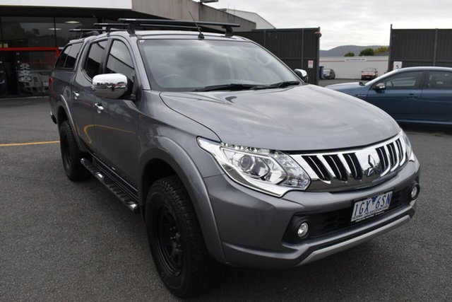 Used Mitsubishi Triton MQ MY16 GLS Double Cab Wantirna South, 2015 Mitsubishi Triton MQ MY16 GLS Double Cab Grey 5 Speed Sports Automatic Utility