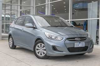 2017 Hyundai Accent RB5 MY17 Sport Silver 6 Speed Sports Automatic Hatchback.