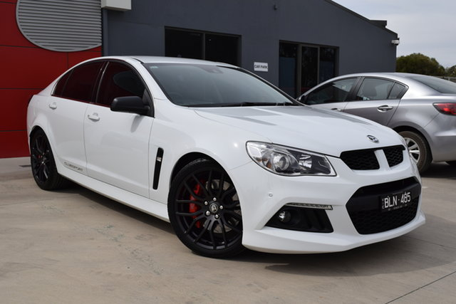 Used Holden Special Vehicles ClubSport Gen-F MY14 R8 Echuca, 2014 Holden Special Vehicles ClubSport Gen-F MY14 R8 White 6 Speed Sports Automatic Sedan