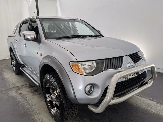 Used Mitsubishi Triton ML MY09 GLX-R Double Cab Maryville, 2009 Mitsubishi Triton ML MY09 GLX-R Double Cab Silver 4 Speed Automatic Utility