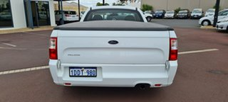 2009 Ford Falcon FG Super Cab White 5 Speed Sports Automatic Cab Chassis