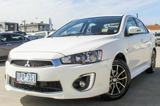 2017 Mitsubishi Lancer CF MY17 ES Sport White 6 Speed Constant Variable Sedan.