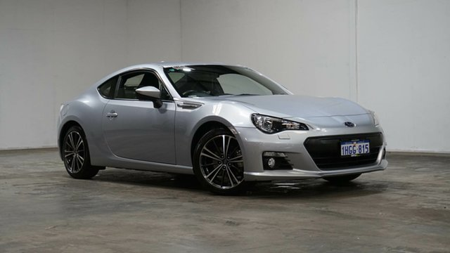 Used Subaru BRZ Z1 MY16 Welshpool, 2015 Subaru BRZ Z1 MY16 Silver 6 Speed Sports Automatic Coupe