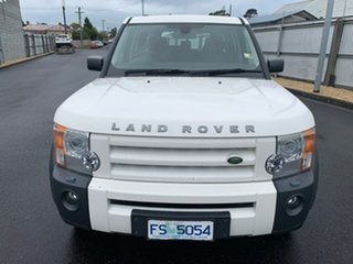 2008 Land Rover Discovery 3 Series 3 08MY SE White 6 Speed Sports Automatic Wagon