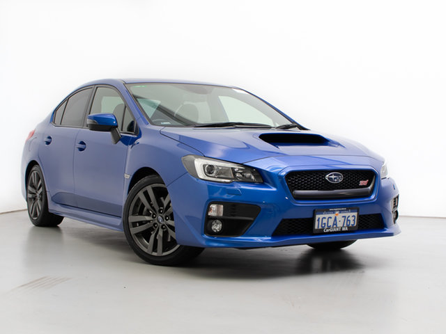 Used Subaru WRX MY17 Premium (AWD), 2016 Subaru WRX MY17 Premium (AWD) Blue 6 Speed Manual Sedan