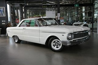 1966 Ford Falcon XP Deluxe White 3 Speed Manual Hardtop.