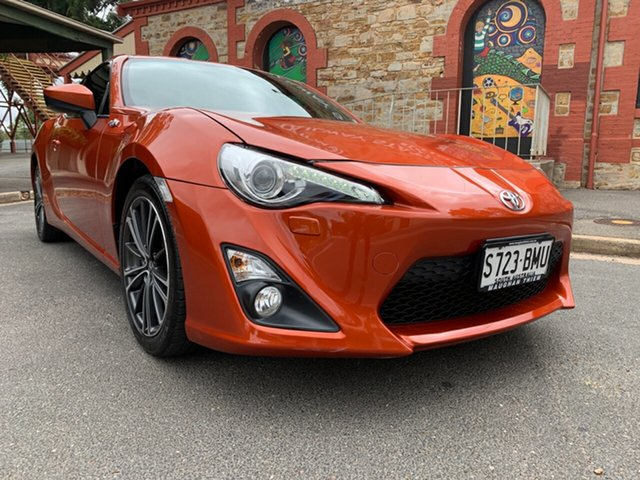 Used Toyota 86 ZN6 GTS Cheltenham, 2012 Toyota 86 ZN6 GTS Orange 6 Speed Manual Coupe