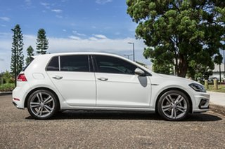 2019 Volkswagen Golf 7.5 MY20 110TSI DSG Highline White 7 Speed Sports Automatic Dual Clutch