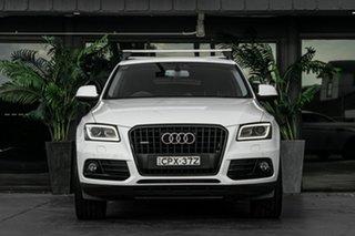 2013 Audi Q5 8R MY13 TDI S Tronic Quattro White 7 Speed Sports Automatic Dual Clutch Wagon.